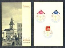 Echte gestempelte Briefmarken aus Böhmen & Mähren (bis 1945) mit Geschichts-Motiv
