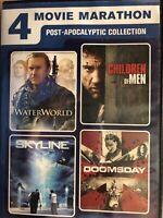 4-Movie Marathon: Post-Apocalyptic Collection (DVD, 2016, 2-Disc Set)