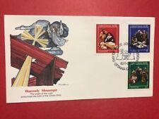 #973-975 Fdc 1982 Fleetwood Canada M110 Christmas - Heavenly Messenger Angel