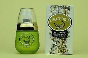 Anti-ageing, Anti-wrinkle Face Serum with Crocodile Oil & Pomegranate   30mL