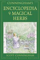 CUNNINGHAM'S ENCYCLOPEDIA OF MAGICAL HERBS Magic Magick Scott Cunningham Book