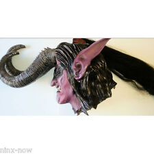 Illidan Stormrage The Betrayer Latex Mask World of Warcraft Licensed DELUXE