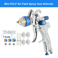 Professional Mini 1.4/1.7/2.0mm Spray Gun Airbrush For Car Furniture Aerograph