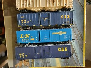 HO Athearn Atlas Walthers CSX BNSF NS UP SP Freight cars