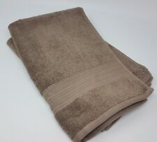 Dkny 100% Cotton Set of 2 Hand Towels, Color: Brown