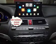 "10.1"" Android Car Stereo Radio DVD Player GPS Navigation for Honda Accord 8th"