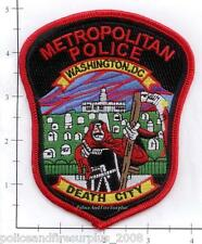Washington DC - Metropolitan Police District of Columbia Police Patch Death City