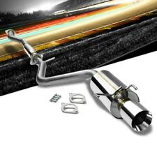 """4.00"""" Roll Muffler Tip Catback Exhaust System For Lexus 01-05 IS300 Altezza XE10"""