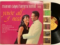 MARVIN GAYE TAMMI TERRELL You're All I Need Tamla TS 284 Degritter
