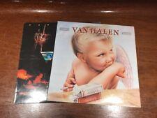 Van Halen - 2 LP Vinyl Record Lot - 1984 / Self Titled