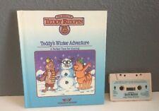 Teddy Ruxpin Tape & Book Set. Teddy's Winter Adventure WOW Worlds of Wonder
