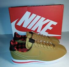 Nike Cortez Basic Premium Casual Mens Shoes Sz 9 Brown Wheat 844791 700 NIB