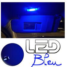 Renault CLIO 2 4 Ampoules LED BLEU Blue éclairage Miroirs courtoisie Pare soleil