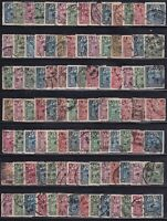 ROC china 1913-25 Junk London & 1st & 2nd Peking Print 13C-50C 100 stamps