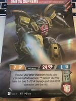 Transformers TCG Firecon Flame R025//064 MINT