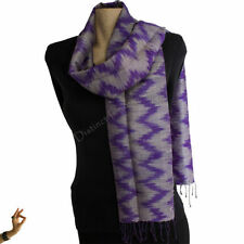 Handmade Shawls/Wraps 100% Silk Scarves and Wraps for Women