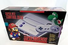 Super Nintendo Entertainment System Control Control Deck Brand New