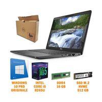 "COMPUTER NOTEBOOK PORTATILE DELL 5300 P97G 13,3"" I5 8265U 16GB SSD 512GB NVME-"