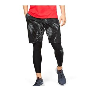 Under Armour Men's Project Rock Terry Printed Quick-dry Shorts Gym 1351530-001