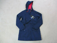 NEW Helly Hansen Jacket Womens Small Blue Pink Lyness Coat Hooded Ladies