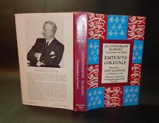 1971 Jules-Francois Blondel ENTENTE CORDIALE 1st Edn Memoirs H/B D/W