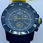 INVICTA Pro Diver Chronograph Black Dial Black Rubber Men's Watch 11748