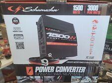 Schumacher Power Converter Inverter, 1500-3000-Watt Peak Pc-1500 *New In Box*
