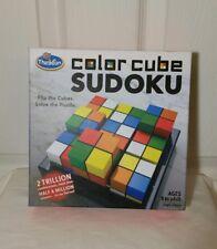 Color Cube Sudoku by Thinkfun 2016 NEW