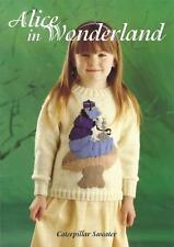 Alice In Wonderland Caterpillar Sweater Knitting Pattern Children 3 - 10 yrs