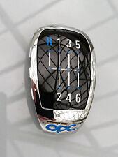 Opel Astra-H OPC Plakette für 6-Gang Schalthebel Vectra C Astra H 5738941