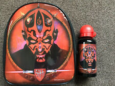 New Star Wars Darth Maul Insulated Lunch Box Bag and Bottle