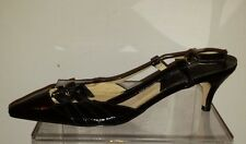 MICHAEL KORS, WOMENS HEEL Patent Leather Sandal SZ 7 M New