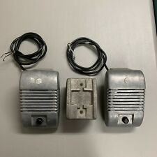 Vintage 1950`s Drive in Movie Speakers And Holder