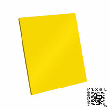 Pixel Peeper 100mm Yellow Filter. Lee & Cokin Compatible. 4 inch 100mm x 143mm