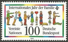 Germany MNH 1994 - Plate Error (Plattenfehler) Mi:1711-1 Year of the Family