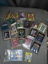 SPORTS CARDS WAX PACK LOT