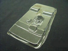 T/R Products Drag Car Driver w/ tire tubs -clear unpainted for 1/24 Slot Car