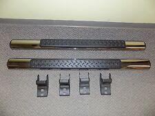 New OEM 2007-2014 Jeep Wrangler 2-Door Side Step Chrome Nerf Bars Tube Pair 2X