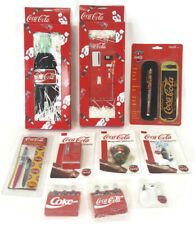 Nos Coca-Cola Switch Plate Covers Magnets Pens Large Lot