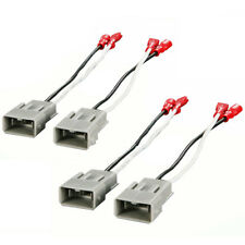 4Pcs Speaker Connector Harness Adapter Wires for SP-7800 72-7800 1982-up Honda