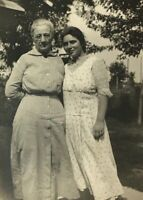 Early 1900s Real Photo Postcard RPPC Maisie Cassell Farlow & Grandma Cassell