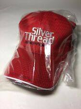 UNITIKA Silver Thread Cap all-size Red Tournament Participating Limited Hat