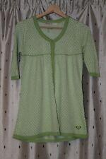 Roxy ~ Green Cotton ? Viscose Blend Knit Top ~ Size M