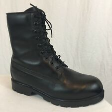 Timberland Tactical Combat Work Boots Men's Size 8 M Black Leather Made In USA