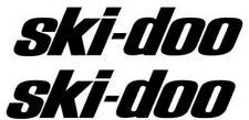 "Ski-Doo Pair 5"" 9"" 11"" 16"" Decal Stickers Pick your size and color. Fast Ship"