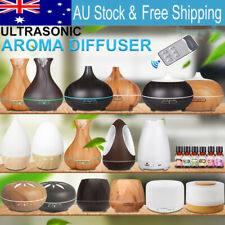 160-550ML Aroma Aromatherapy Diffuser LED Oil Ultrasonic Air Humidifier Purifier