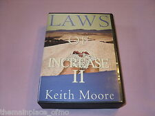 Laws Of Increase 2 Audiobook CD Keith Moore II 6 Message Program Religious