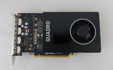 NVIDIA QUADRO P2200 Grafikkarte PCIe 5GB GDDR5 4x DP