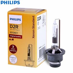 PHILIPS Xenon Standard Globe D2R 35W Single HID Headlight Bulb AU NEW D2S D2C