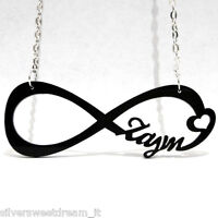 PENDENTE LOGO DIRECTIONER INFINITY + COLLANA ONE DIRECTION INFINITO 1D NECKLACE